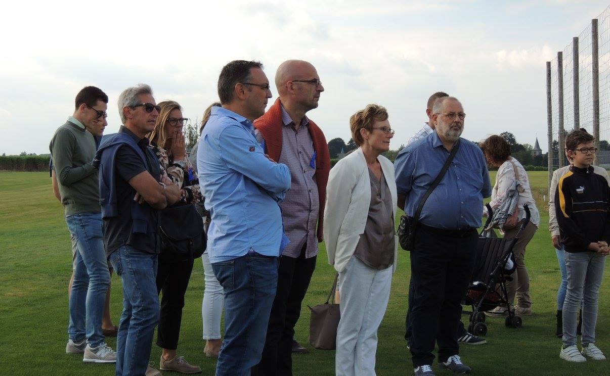Initiation au golf à Ragnies