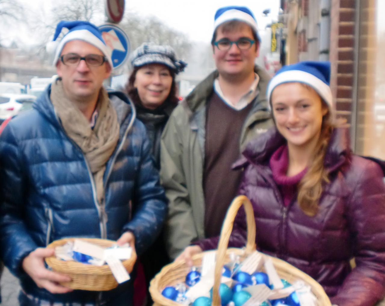boules de Noël 2012
